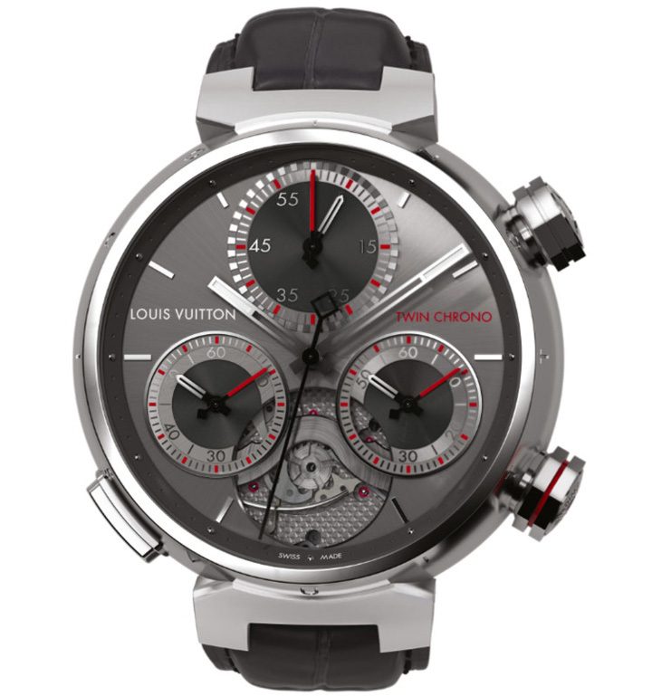 Louis Vuitton Tambour Twin Chrono Grand Sport Watch