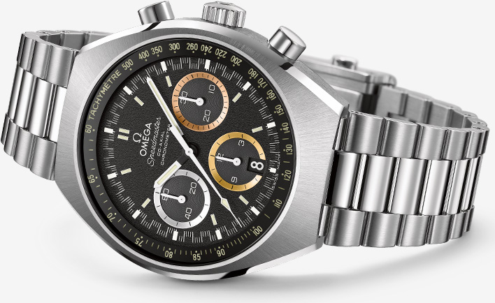 Omega Speedmaster Mark II Rio 2016 Watch Front