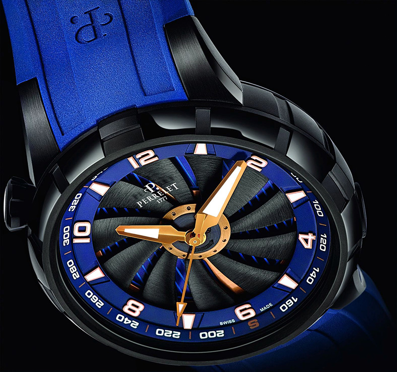 Perrelet Turbine Yacht Watch A1088-1