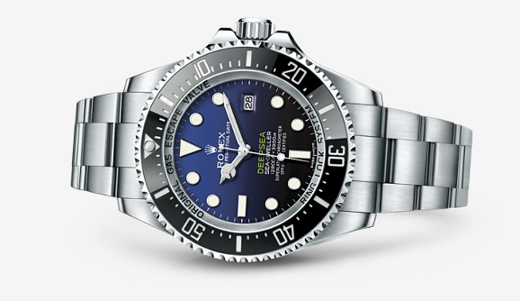 Rolex Deepsea D-Blue Dial Watch