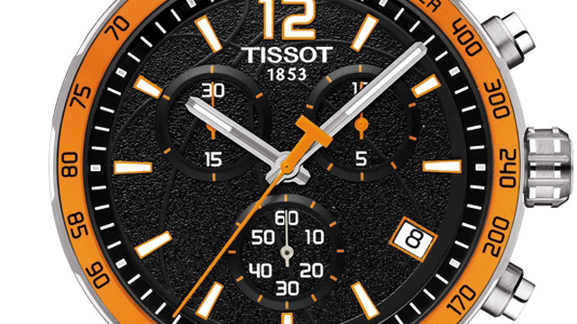 Tissot Quickster FIBA Limited Edition 2014 Watch Dial