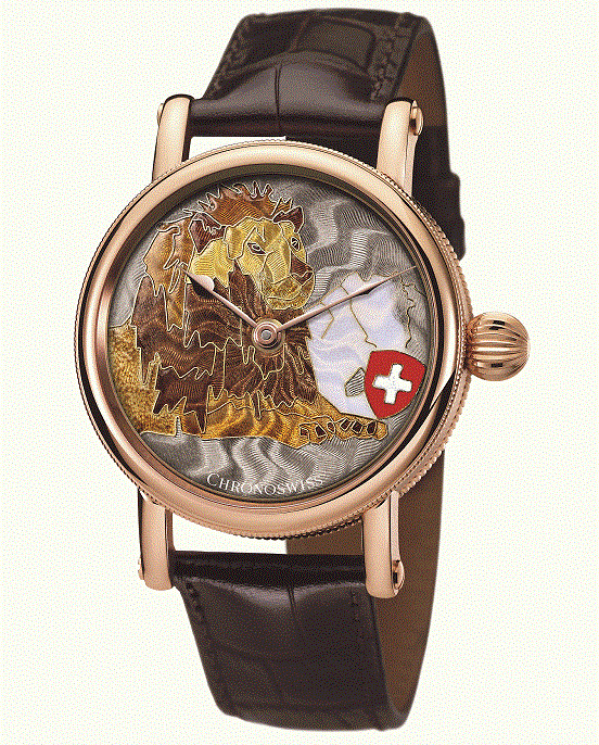 Chronoswiss Sirius Lion Heart Watch