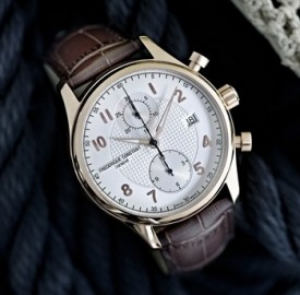 Frederique Constant Runabout Chronograph Rose Gol Plated Watch
