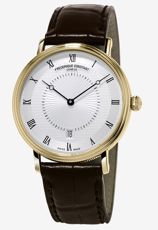 Frederique Constant Slimline Classic Automatic Gold Plated Watch