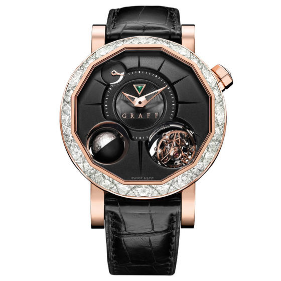 Graff MasterGraff GyroGraff Diamond Red Gold Watch