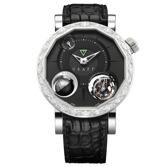 Graff MasterGraff GyroGraff Diamond White Gold Watch