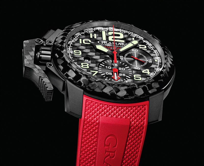 Graham Chronofighter Oversize Superlight Carbon Watch