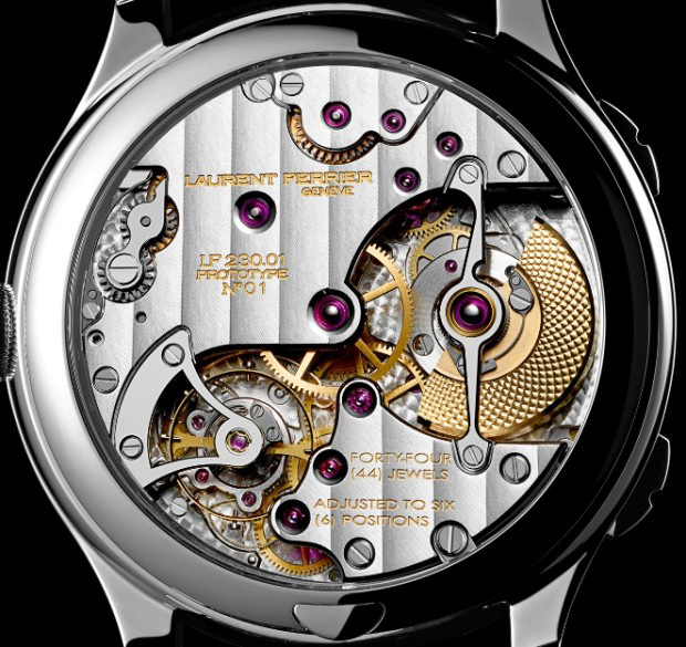 Laurent Ferrier Galet Traveller Cloisonné Enamel Dial Watch Back