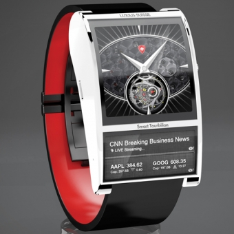 Luxius Suisse Smart Tourbillon Watch