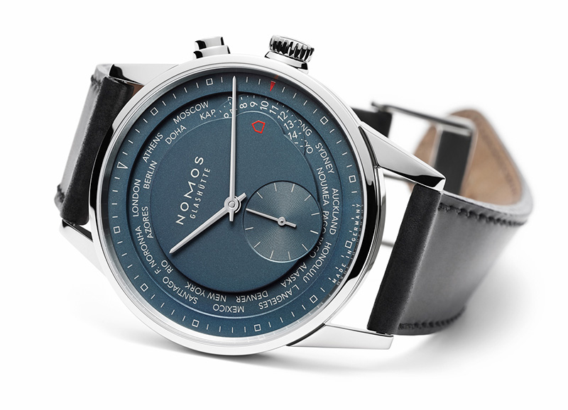 Nomos Zurich Worldtimer True Blue Watch