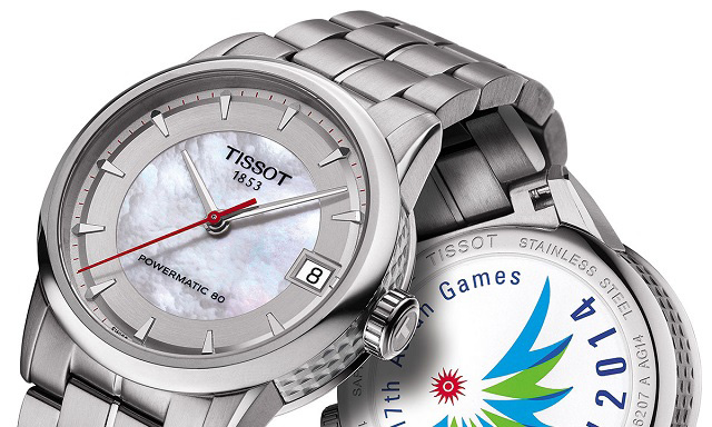 Tissot Powermatic 80 Asian Games 2014 Special Edition Lady Watch