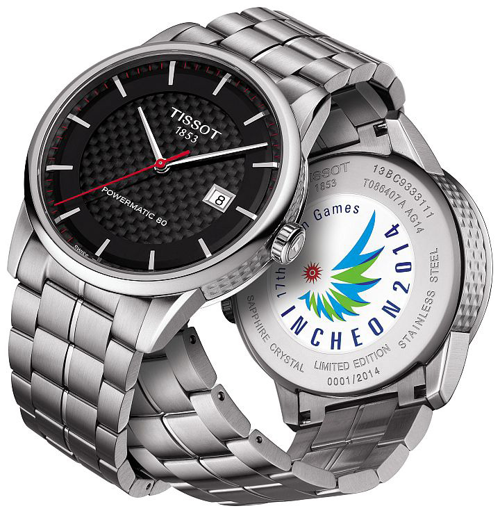 Tissot Powermatic 80 Asian Games 2014 Special Edition Watch