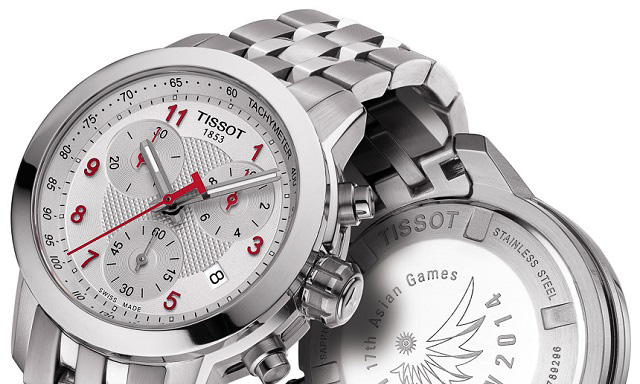 Tissot PRC 200 Chrono Quartz Asian Games Special Edition 2014 Ladies Watch