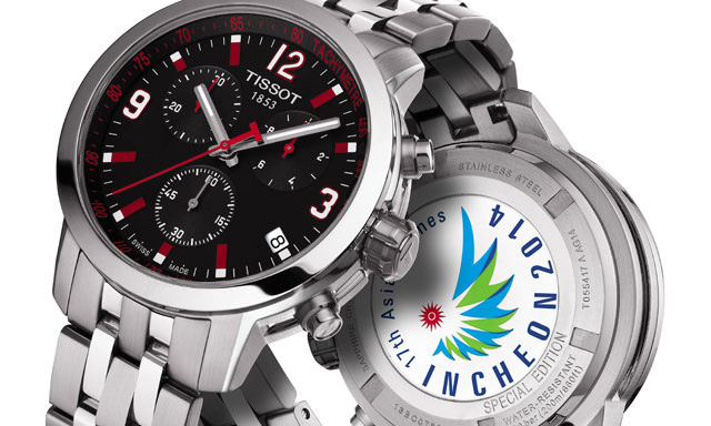 Tissot PRC 200 Chrono Quartz Asian Games Special Edition 2014 Watch