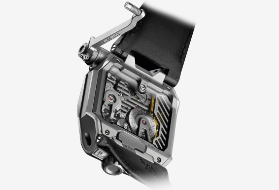 Urwerk EMC Black Watch Back