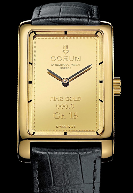 Corum Heritage Ingot Watch Front