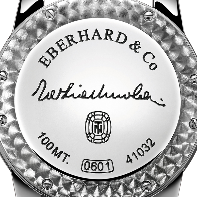 Eberhard & Co. Tazio Nuvolari Solo Tempo Watch Case Back