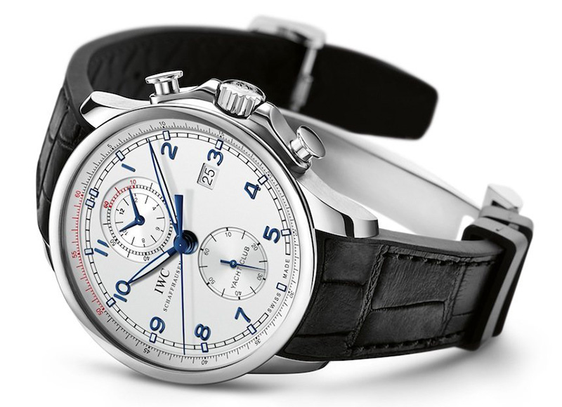 "IWC Portuguese Yacht Club Chronograph ""Ocean Racer"" Watch Front"