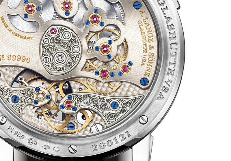 A. Lange & Sohne Lange 1 Tourbillon Handwerkskunst Watch Movement
