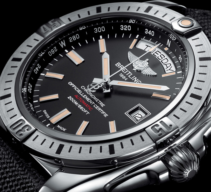 Breitling Galactic 44 Watch Dial