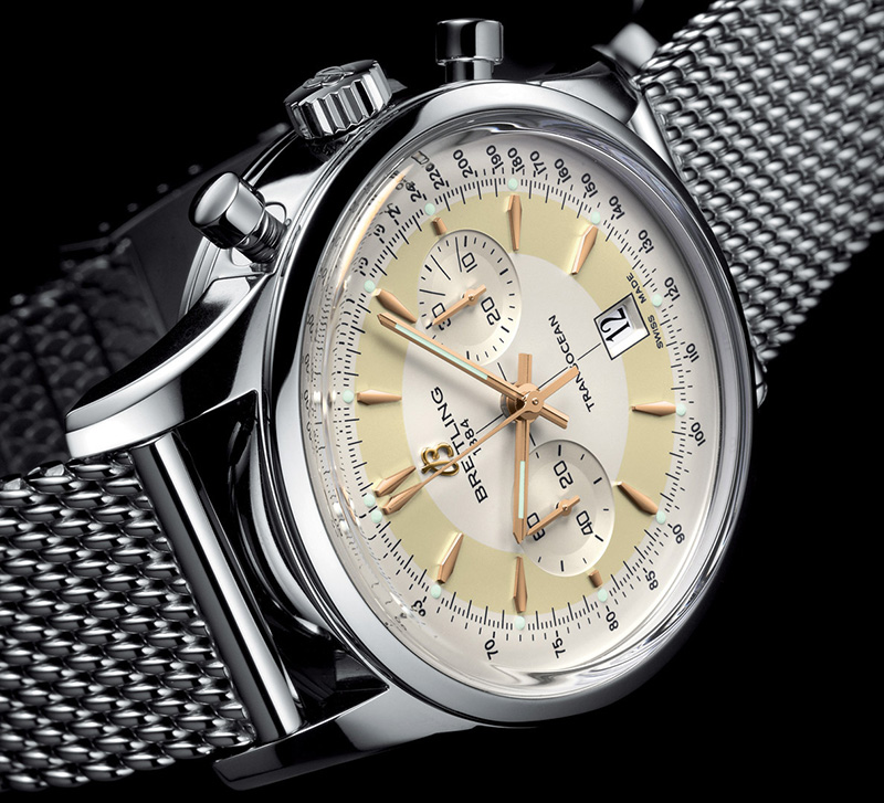 Breitling Transocean Chronograph Limited Edition Watch Dial