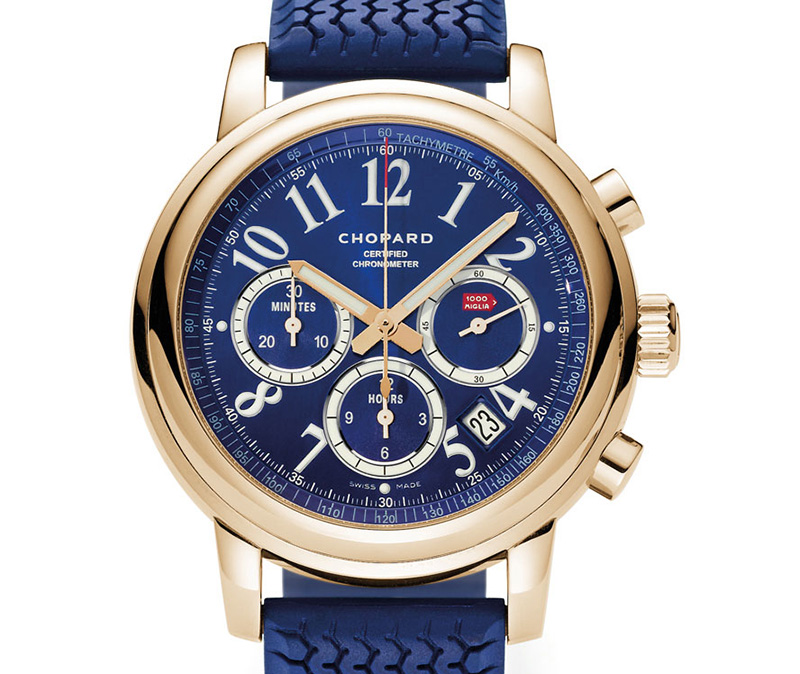 Chopard Mille Miglia Porsche Club Of America 60th Anniversary Limited Edition Red Gold Watch