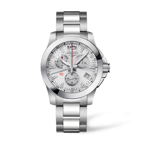 Longines Conquest 1/100th Horse Racing Watch Front