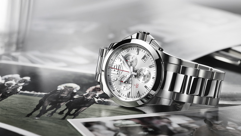 Longines Conquest 1/100th Horse Racing Watch