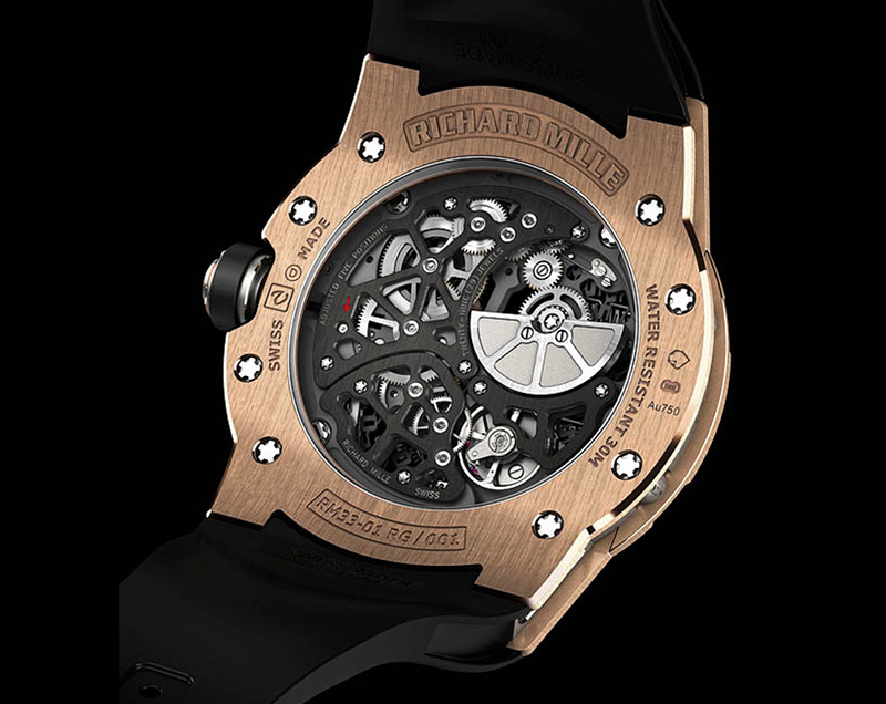 Richard Mille RM 33-01 Watch Back