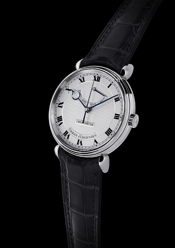Urban Jurgensen & Sonner Central Second Platinum Watch