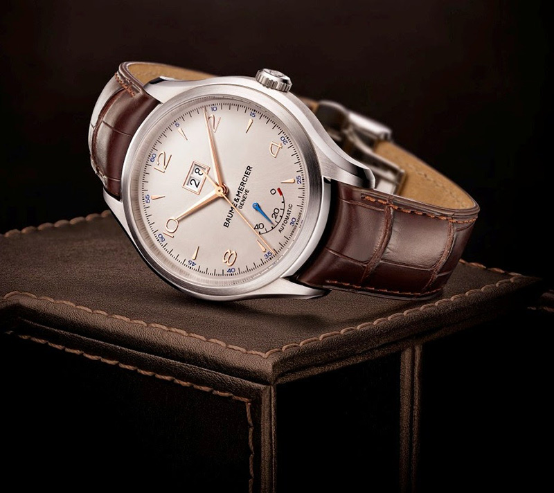 Baume & Mercier Clifton Automatic Big Date and Power Reserve Watch