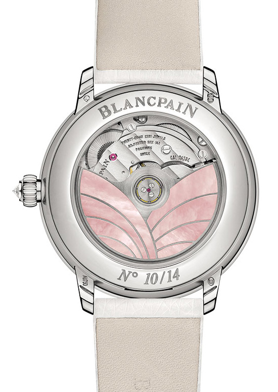 Blancpain Saint Valentine's Day 2015 Watch Back