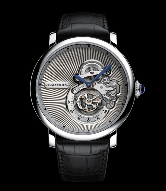 Cartier Rotonde de Cartier Reversed Tourbillon Watch