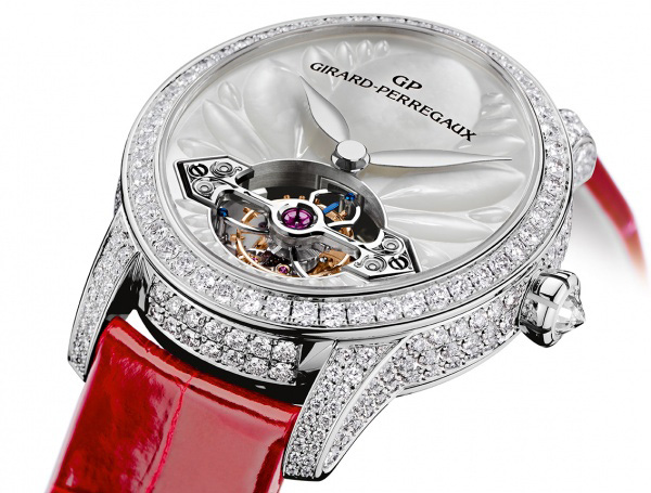 Girard-Perregaux Cat's Eye Tourbillon with Gold Bridge Watch Case