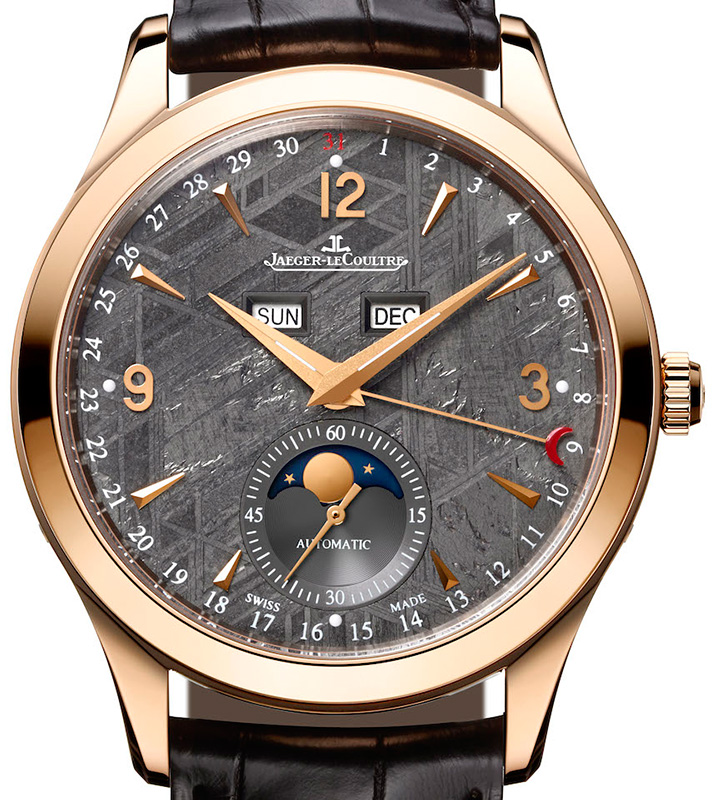 Jaeger-LeCoultre Master Calendar Meteorite Dial Pink Gold Watch Dial