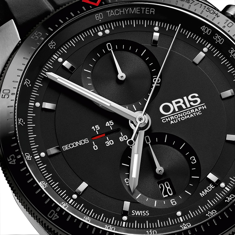 Oris Artix GT Chronograph Watch Dial