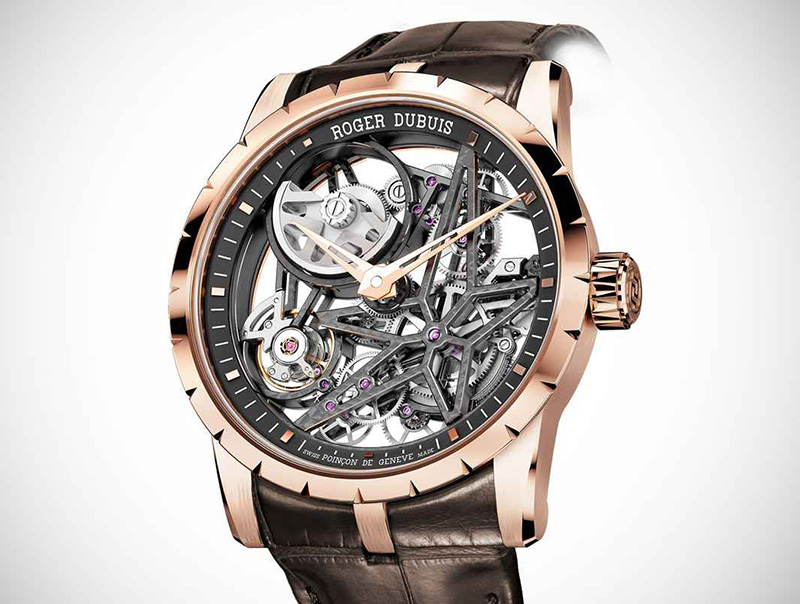 Roger Dubuis Excalibur Automatic Skeleton Watch
