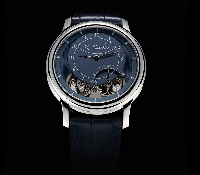 Romain Gauthier Prestige HMS Ten Platinum Blue Watch