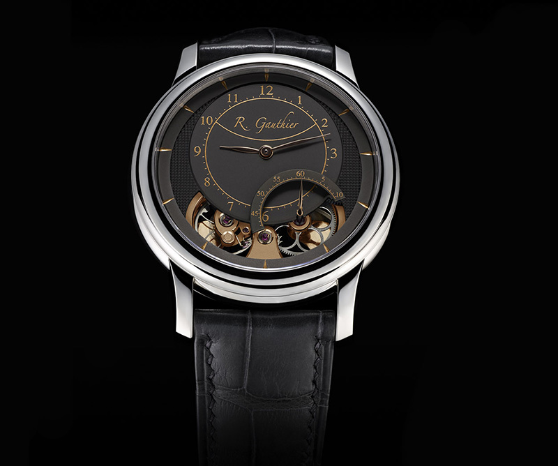Romain Gauthier Prestige HMS Ten White Gold Anthracite Watch