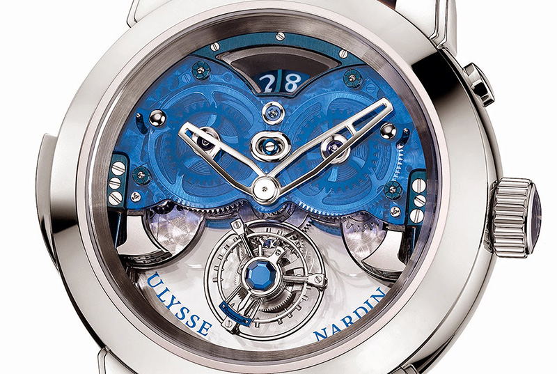 Ulysse Nardin Imperial Blue Watch Case