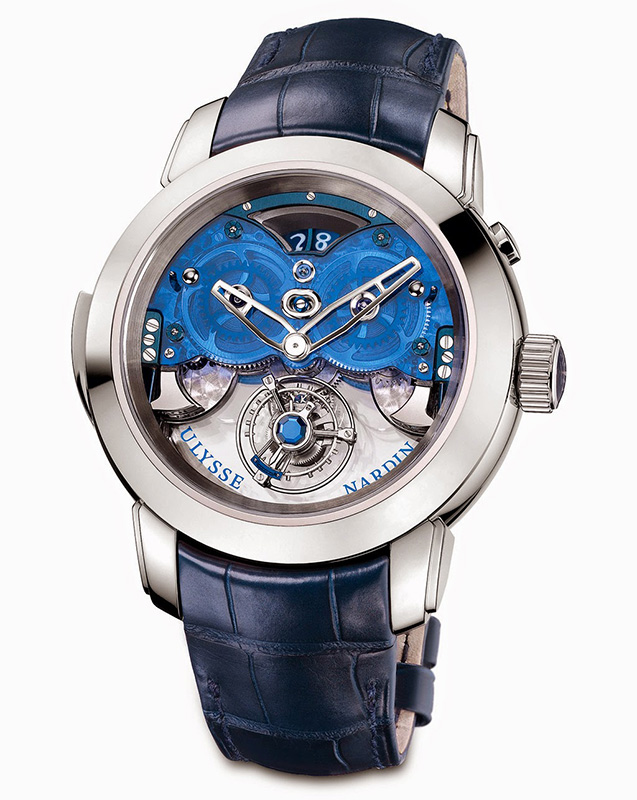 Ulysse Nardin Imperial Blue Watch Front
