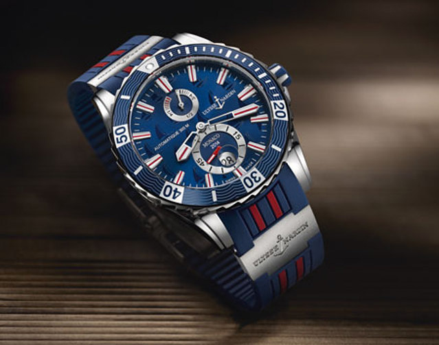 Ulysse Nardin Marine Diver Monaco Limited Edition 2014 Watch Front