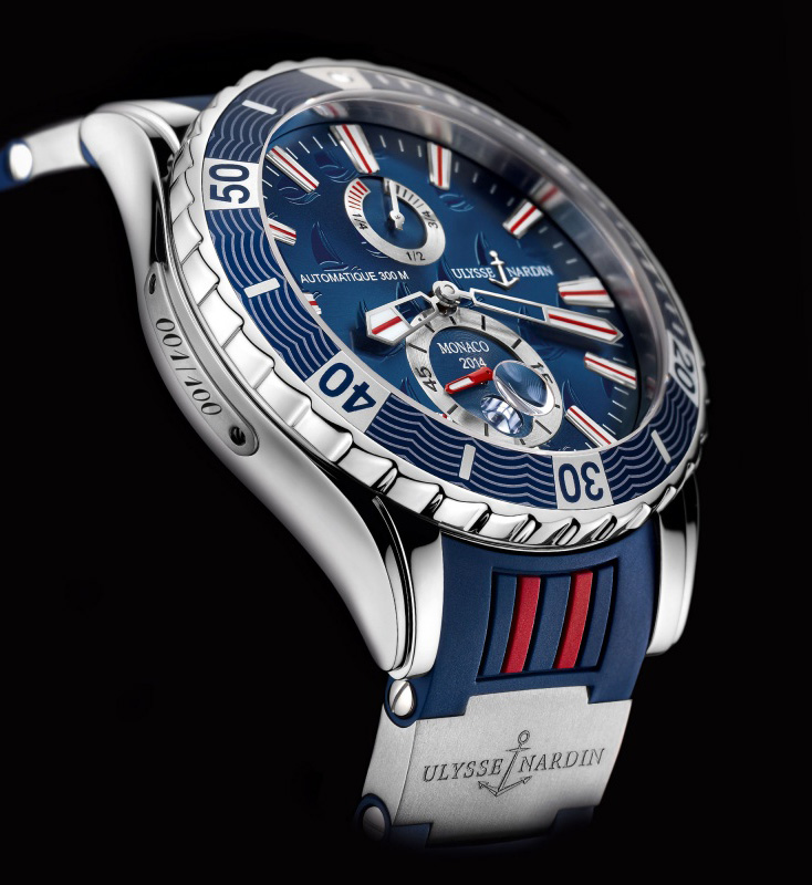 Ulysse Nardin Marine Diver Monaco Limited Edition 2014 Watch Profile