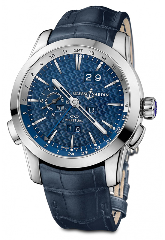 Ulysse Nardin Perpetual Calendar Boutique Edition Watch Front