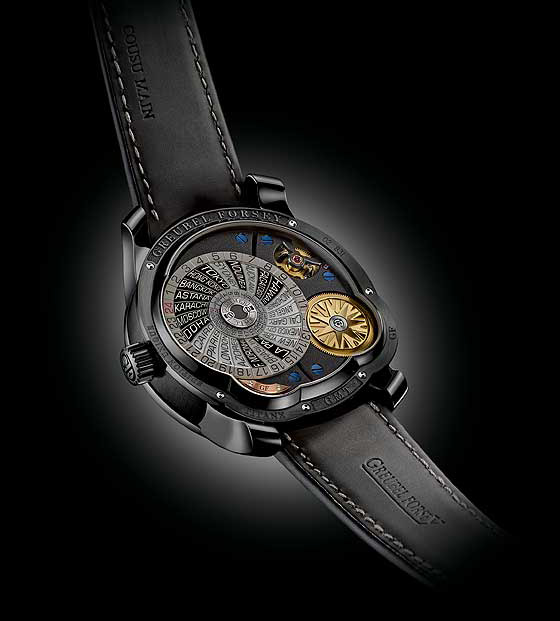 Greubel Forsey GMT Black Watch Back