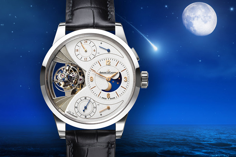 Jaeger-LeCoultre Duometre Spherotourbillon Moon Watch