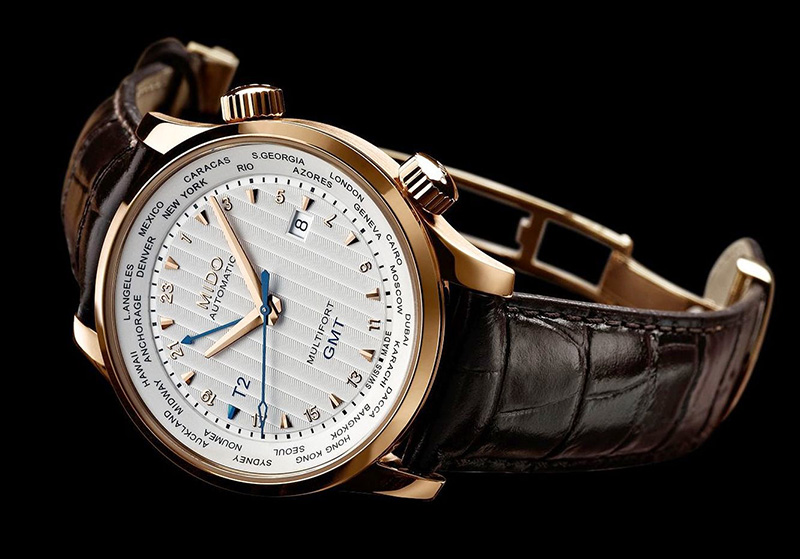 Mido Multifort 80th Anniversary GMT Edition Watch Profile