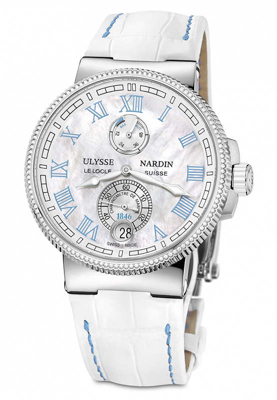 Ulysse Nardin Marine Chronometer Manufacture Ladies Watch 1183-126B/430