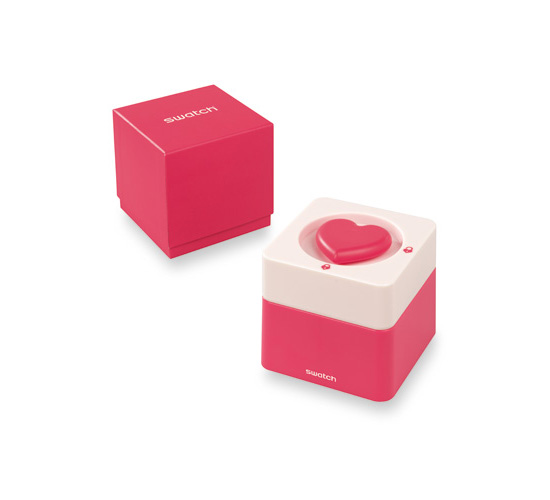 Swatch Saint Valentine 2015 Unlock My Heart Watch Box