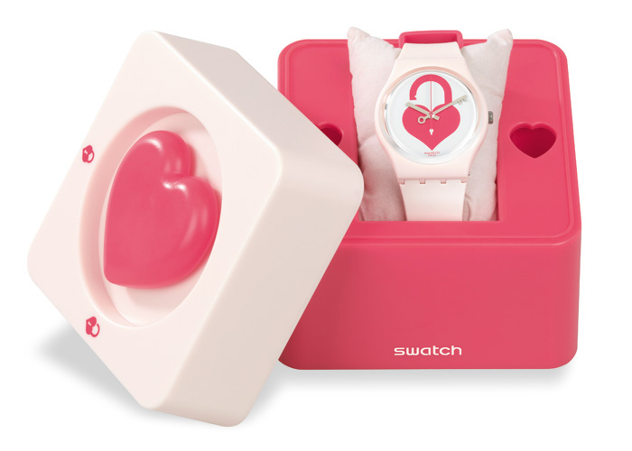 Swatch Saint Valentine 2015 Unlock My Heart